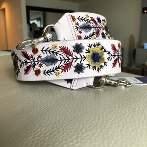 NWT Rebecca Minkoff Embroidery Guitar Purse Strap